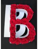 Kutija s poklopcem u obliku slova B.